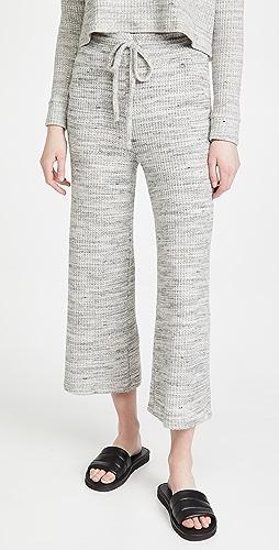 Beyond Yoga - Wide Leg Cropped Sweatpants