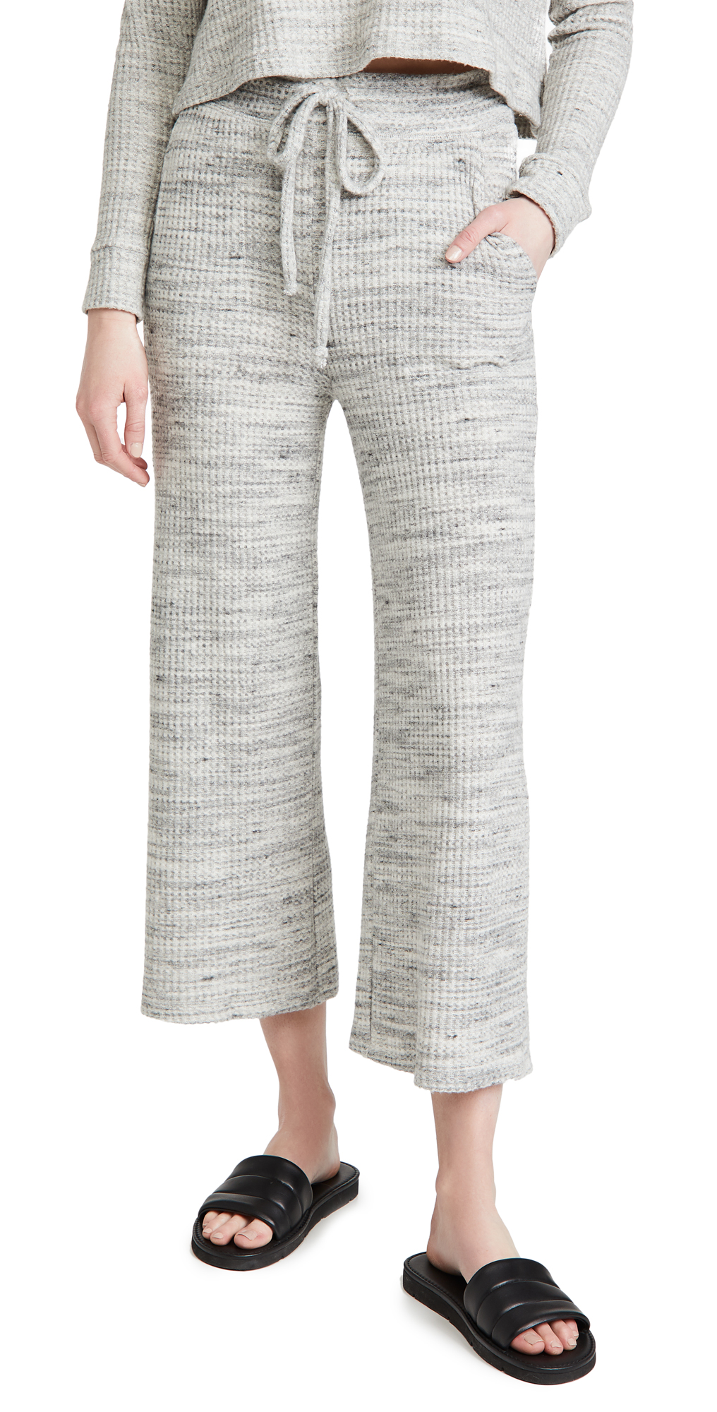 Beyond Yoga Wide Leg Cropped Sweatpants