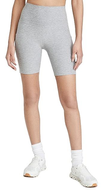 Beyond Yoga Spacedye Team Pockets High Waisted Biker Shorts