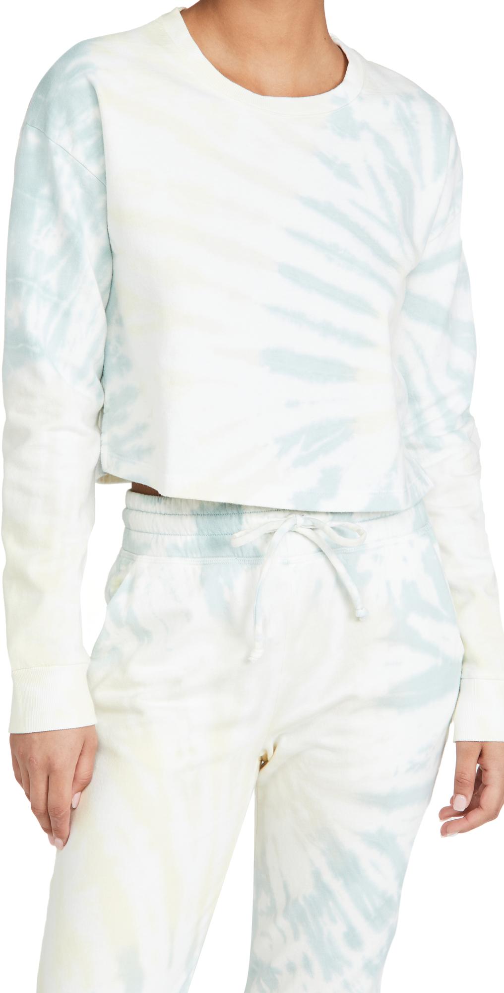 Beyond Yoga Weekend Boxy Cropped Pullover Sweatshirt