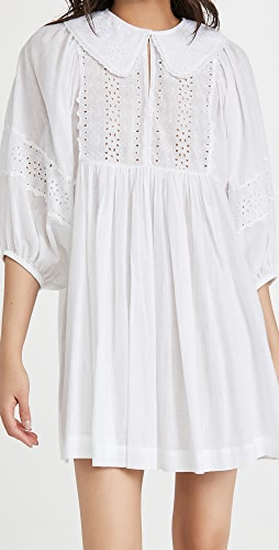 byTimo - Cotton Slub Collar Mini Dress
