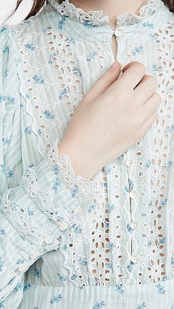 byTiMo Cotton Slub Mini Dress