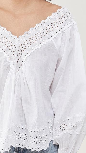 byTiMo V 领女式衬衫
