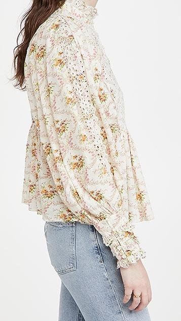 byTiMo Victorian 女式衬衫