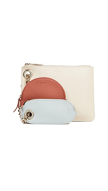 Cafune Triplet Pouch