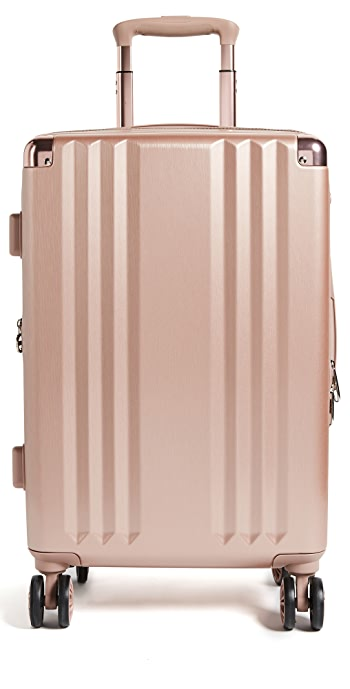 CALPAK Ambeur Carry On Suitcase - Rose Gold