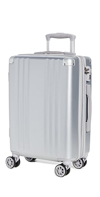CALPAK Ambeur Carry On Suitcase - Silver