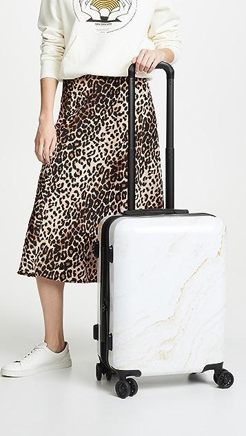 CALPAK 金色大理石纹随身行李箱