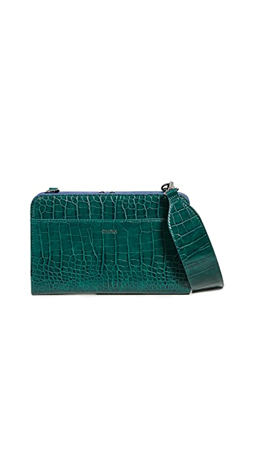 CALPAK Croc Travel Wallet