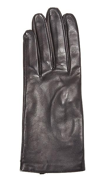 Carolina Amato Полностью кожаные перчатки