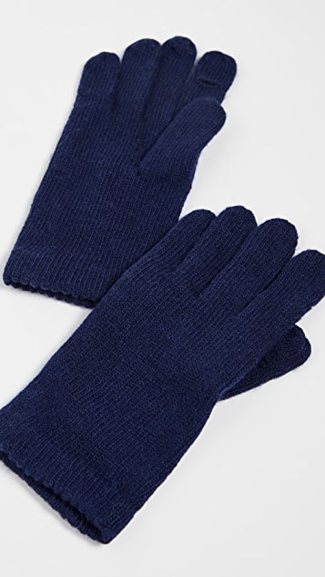 Carolina Amato Wool Texting Gloves