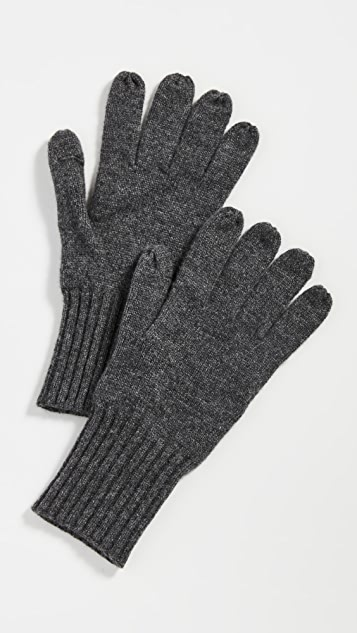 Carolina Amato Cashmere Texting Gloves