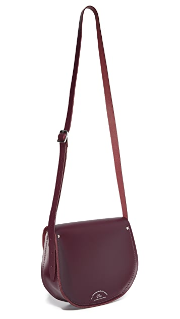 Cambridge Satchel Tassel Saddle Bag