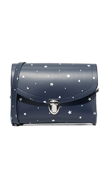 Cambridge Satchel Star Print Push Lock Bag