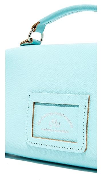 Cambridge Satchel Mini Poppy Top Handle Bag