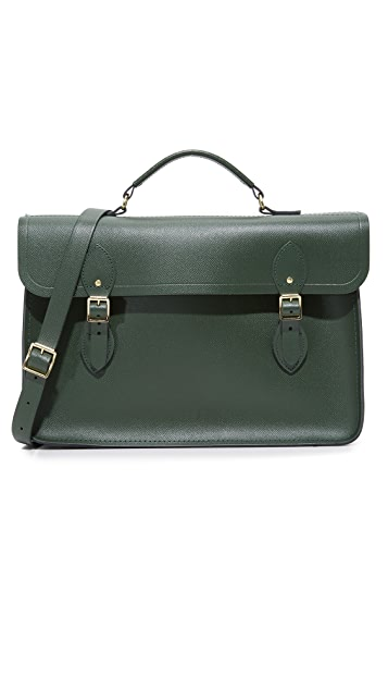 Cambridge Satchel Saffiano Large Briefcase