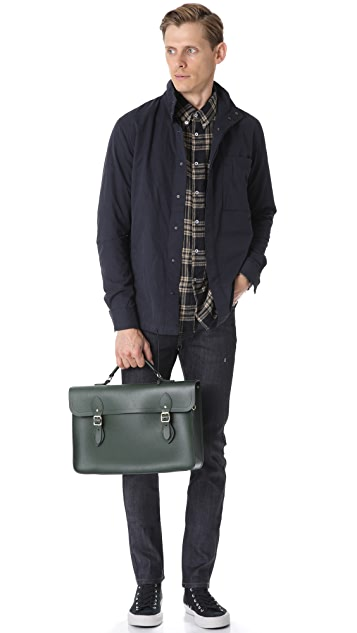 Cambridge Satchel Saffiano Large Briefcase