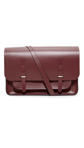 Cambridge Satchel Bridge Closure Messenger Bag