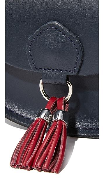 Cambridge Satchel Миниатюрная сумка с кисточками