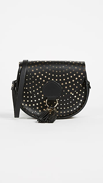 Cambridge Satchel Mini Tassel Cross Body - Star Haze Print