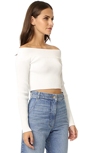 C/Meo Collective Life is Real Knit Top