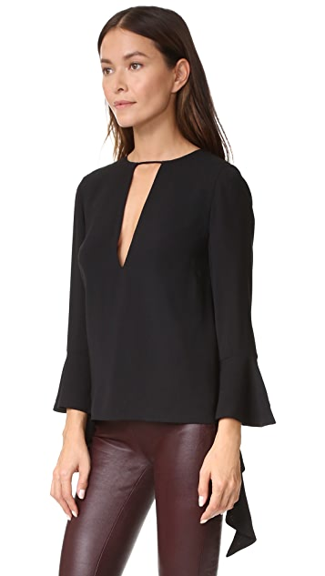 C/Meo Collective Spelt Out Long Sleeve Top