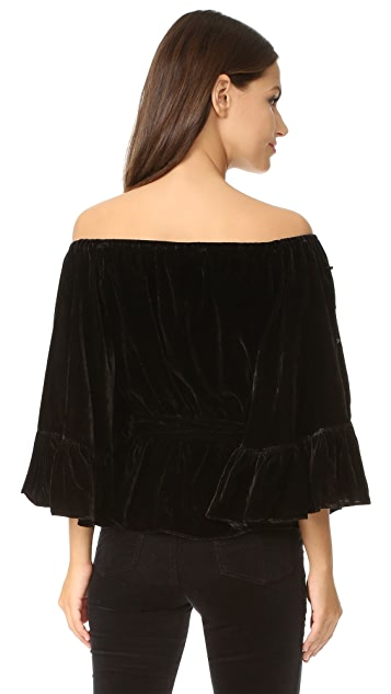 C/Meo Collective Allure Pearl Top