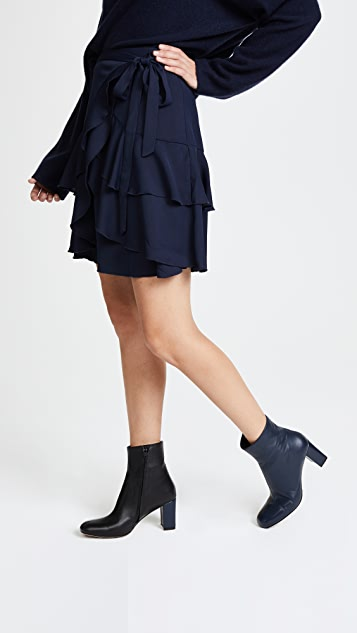 ... C/Meo Collective Gossamer Miniskirt ...