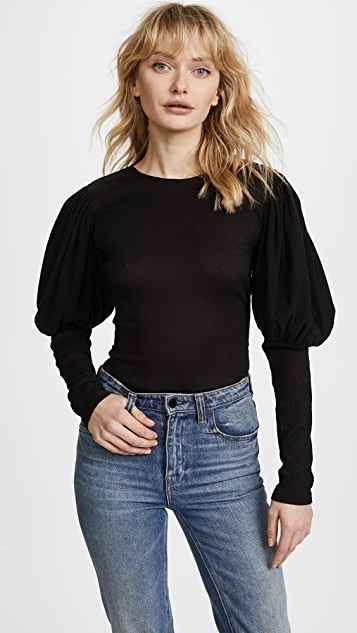 C/Meo Collective Circuit Long Sleeve Top - Black