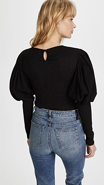 C/Meo Collective Circuit Long Sleeve Top