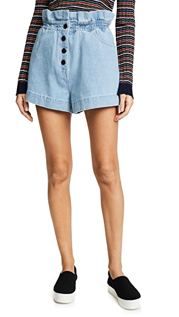 C/Meo Collective Stranded Shorts