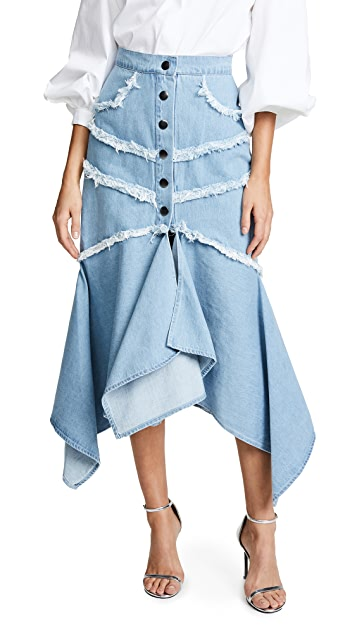... C/Meo Collective Stranded Midi Skirt