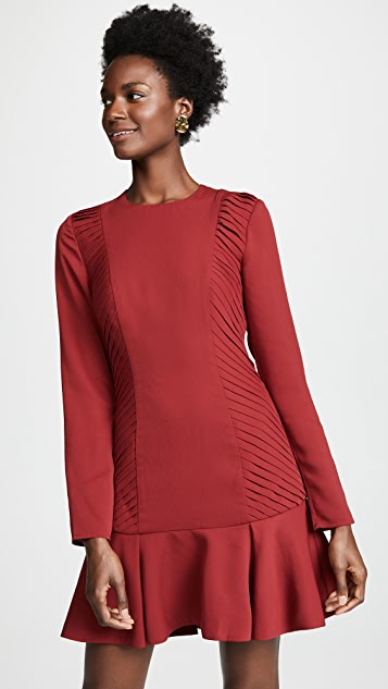 C/Meo Collective Visceral Long Sleeve Mini Dress