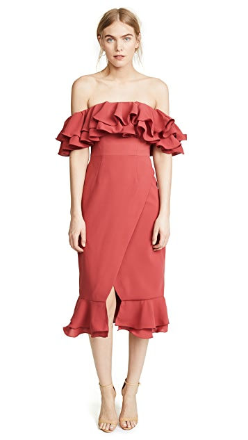 C/Meo Collective Immerse Midi Dress