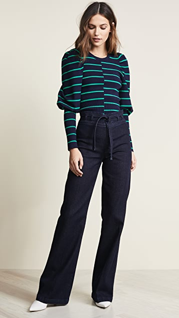 C/Meo Collective Underline Knit Top