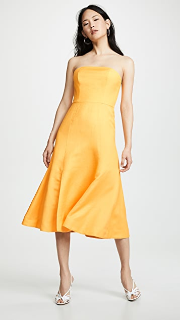 C/Meo Collective Crescent Midi Dress