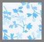 Light Blue Floral