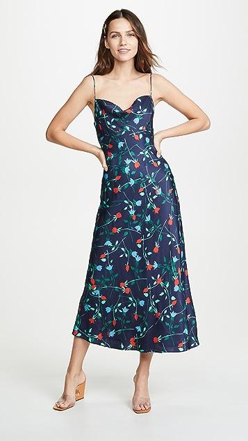 C/Meo Collective Миди-платье Sectional