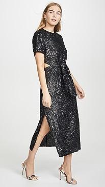 Lustre Midi Dress