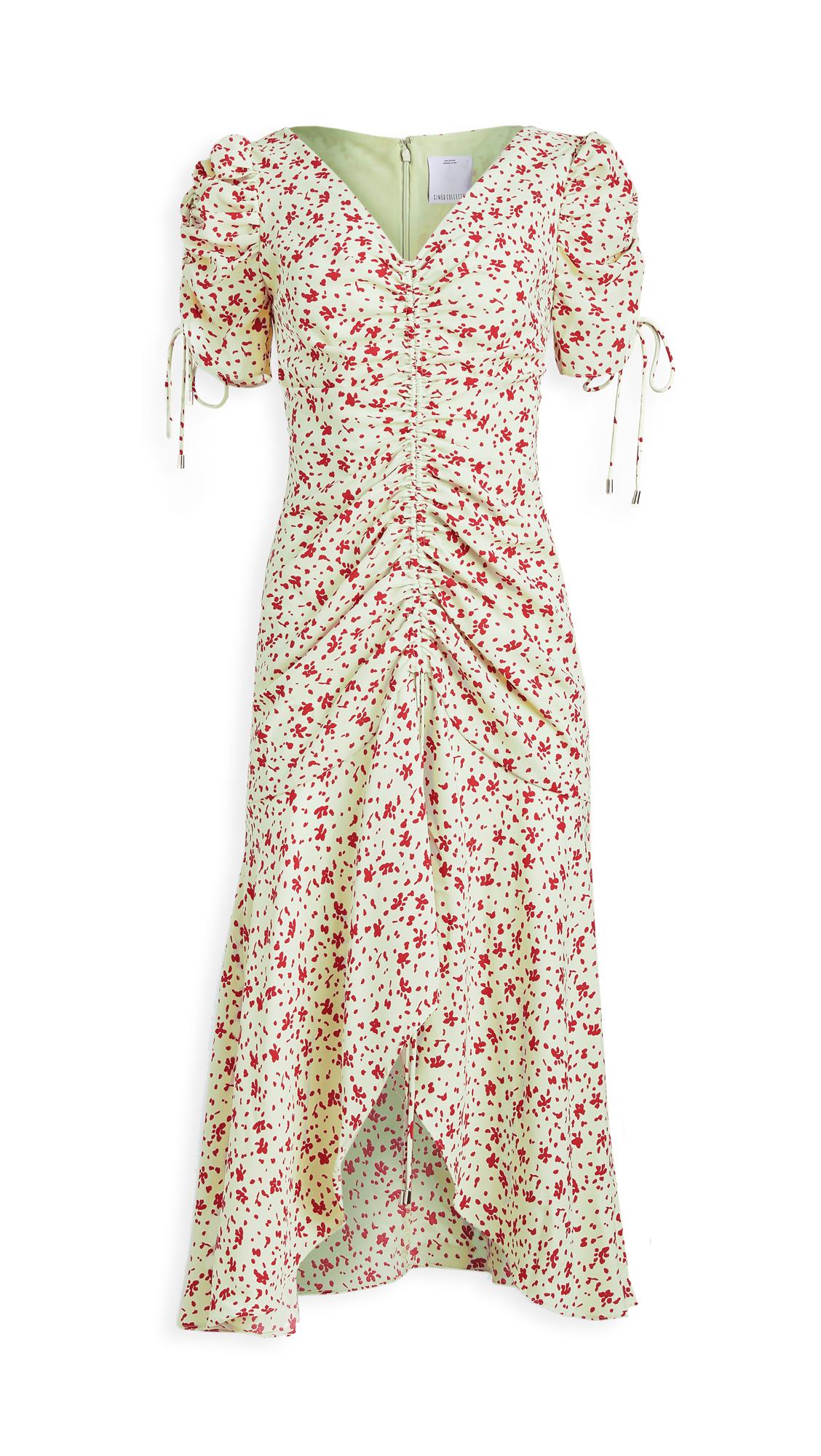 C/Meo Collective Intersect Midi Dress