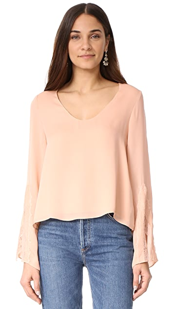 CAMI NYC The Dustin Long Sleeve Top