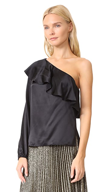 CAMI NYC One Shoulder Top