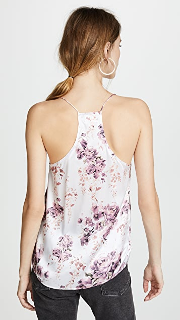 CAMI NYC The Racer Floral Top