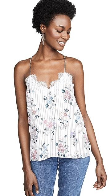 CAMI NYC Блуза из жоржета со спиной-борцовкой