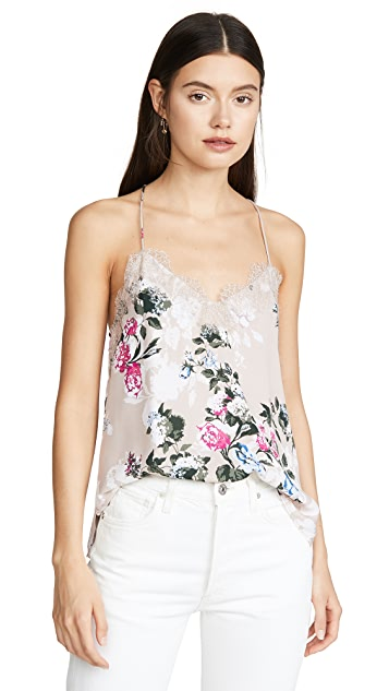 CAMI NYC Racer Georgette Top