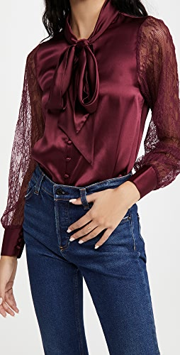 CAMI NYC - Camberlyn Cabernet Blouse