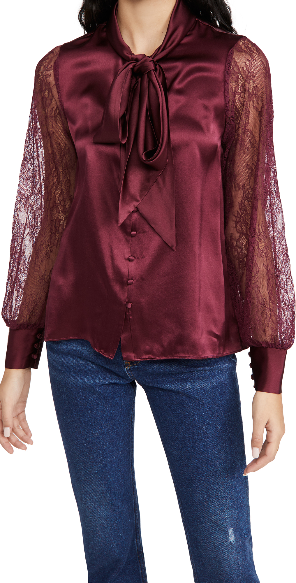 CAMI NYC Camberlyn Cabernet Blouse