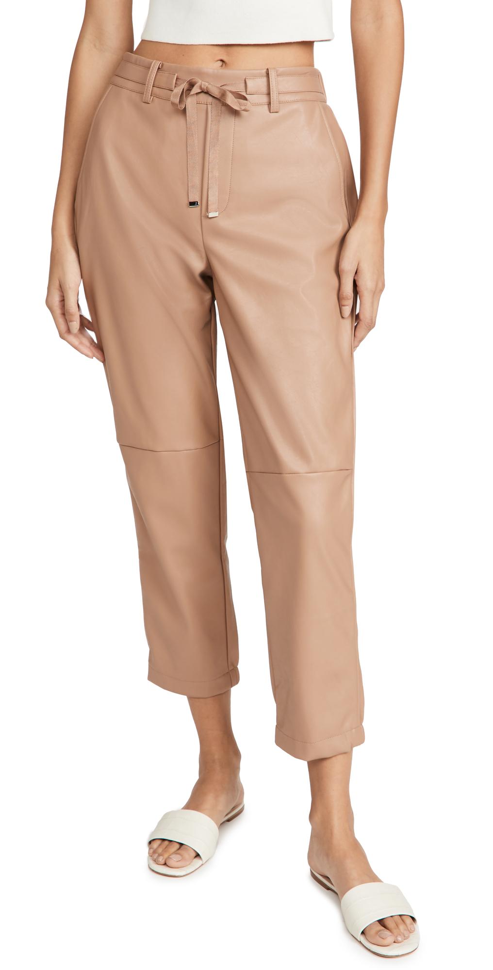 Adene Vegan Leather Pants