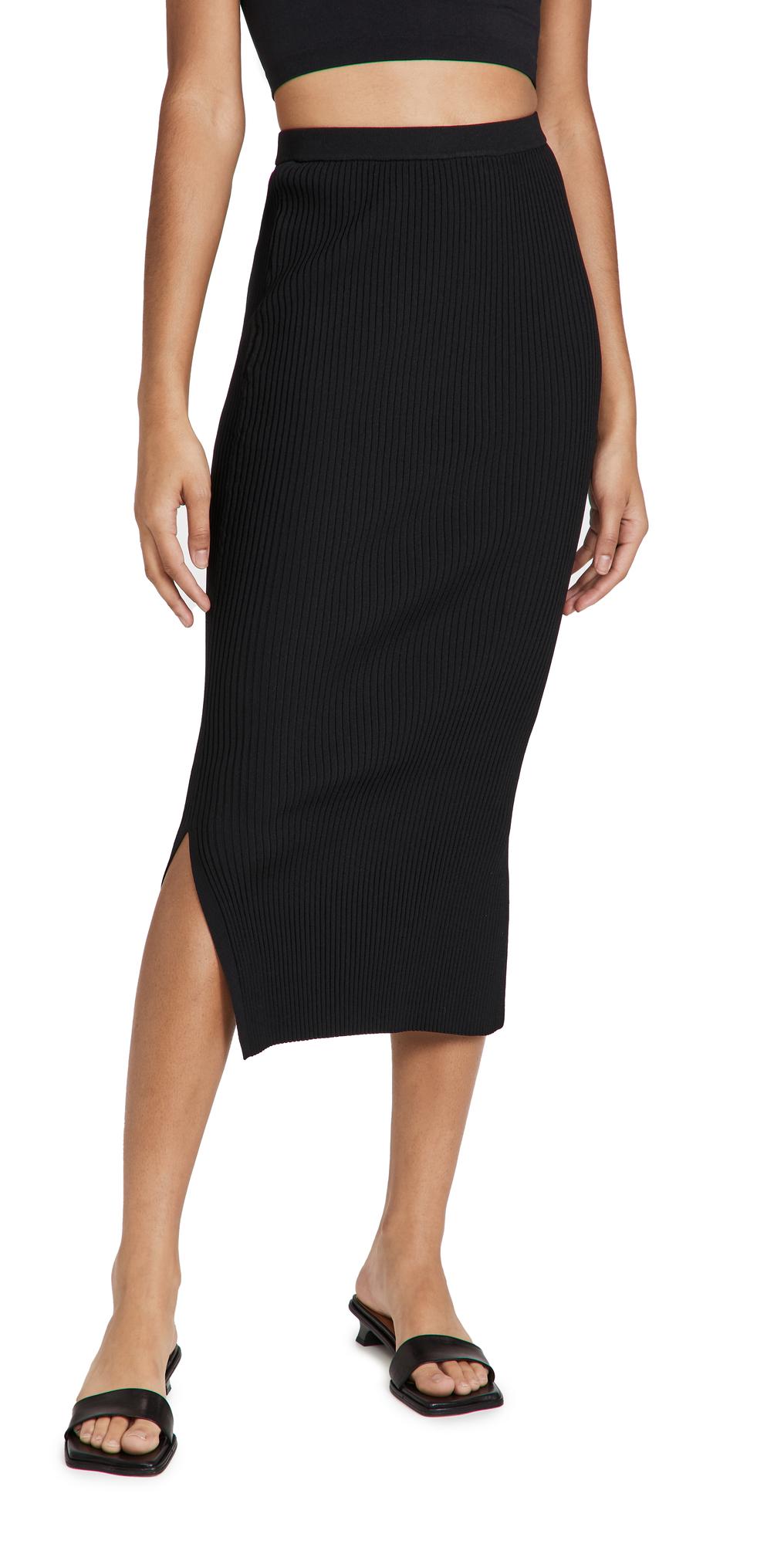Leah Rib Skirt