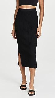 CAMI NYC Leah Rib Skirt